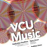 VCU Music poster