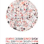 Senior Show poster, 2013
